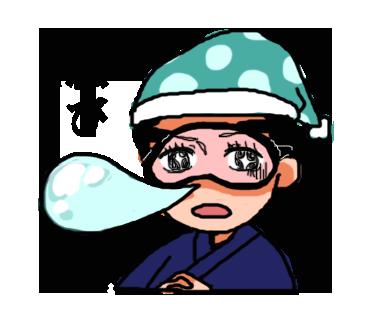 LINEクリエイターズスタンプ「いっき使える!鹿児島弁」27