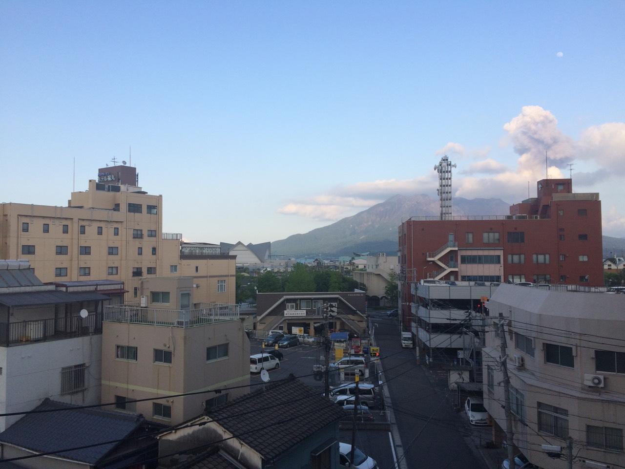 20150501夕暮れの桜島