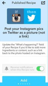 InstagramからTwitterに写真付きで投稿したい!
