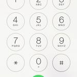 スマホで通話中に「数字のボタン」を押したいんです!キーパッドの表示方法。